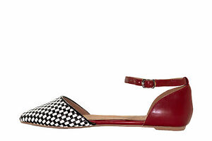 NEW-Vegan-Jeffrey-Campbell-In-Love-flat-in-black-white-red-exclusive