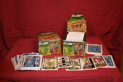 1987 GI JOE TRADING CARDS HASBRO COMIC IMAGES SERIES 1 COBRA