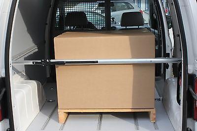 Alu Klemmbalken für Airlineschiene Transporter 1,30 - 1,67 m Ladungssicherung