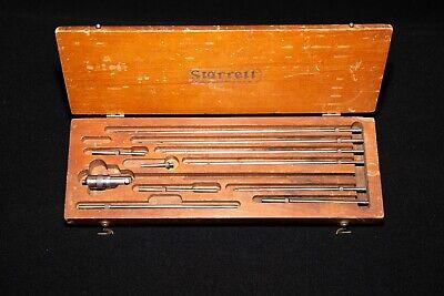 Starrett Inside Micrometer 0-10 In Wooden Box