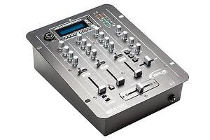 3 KANAL SIRUS PRO MXA-3500 MIXER MISCHPULT USB SD KARTE BLUETOOTH MP3 WAV XLR