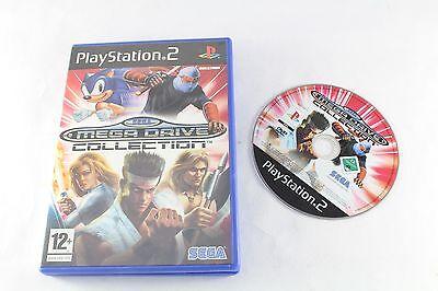 Sony PS2 Playstation 2 Sega Mega Drive Collection Game Pal No Manual Nintendo 64 No Ps2