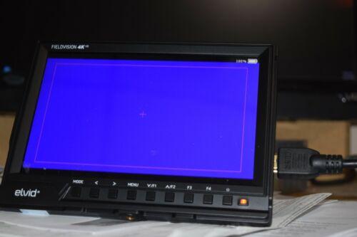 """Elvid Fieldvision 4K 7"""" On-Camera Monitor"""