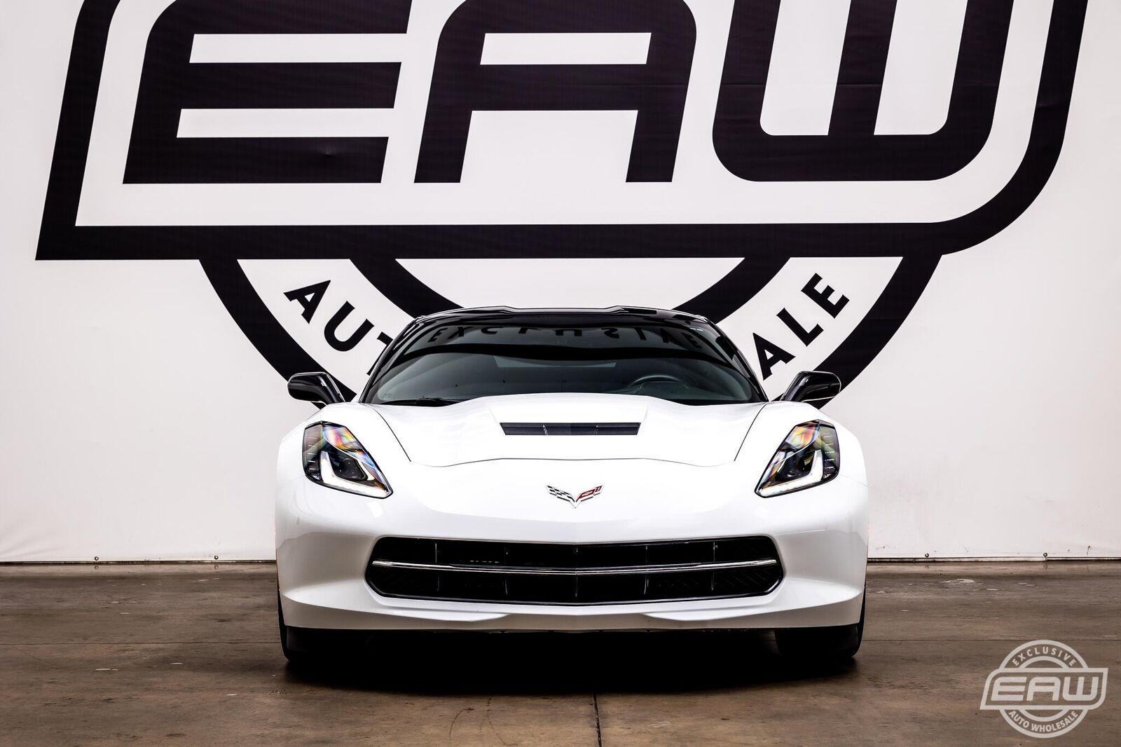 2014 White Chevrolet Corvette Coupe 1LT   C7 Corvette Photo 3