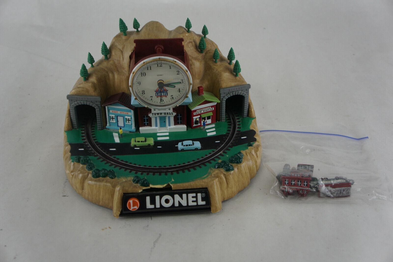 Lionel 100th Anniversary Animated Talking Train Alarm Clock - READ!