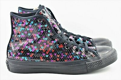 Converse CTAS Chuck Taylor Womens Size 9 Black Blue Cherry 562443C