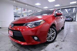 2014 Toyota Corolla LE LE UPGRADE, ONE OWNER CLEAN CAR PROOF NON