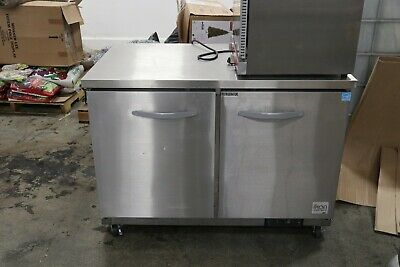 Ikon 12 Cu. Ft Under Counter Refrigerator 2 Section Good Condition