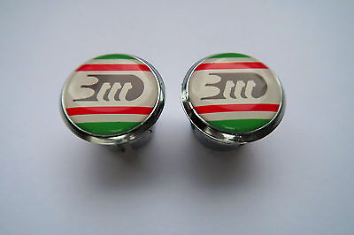 plug Bar End Caps very rare vintage new Chesini X-Uno Handlebar End Plugs