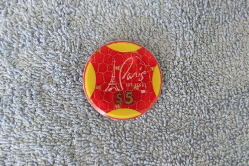 Paris Casino $5 Roulette Jeton