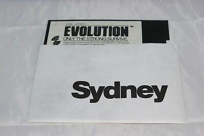 Evolution Only the Strong Survive Atari Computers Disc Only