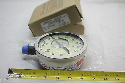 Ashcroft 4-12 Pressure Gauge 1la-42229-009 45-1009-al-04l-100