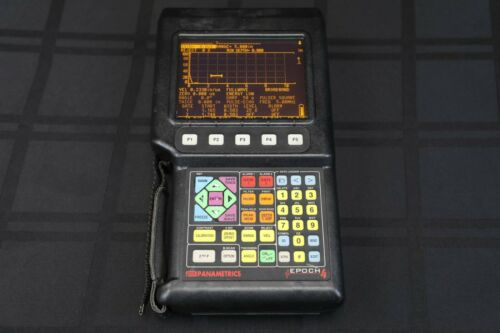 Olympus Panametrics Epoch 4 Ultrasonic Flaw Detector-Handheld-Digital-NDT-UT-