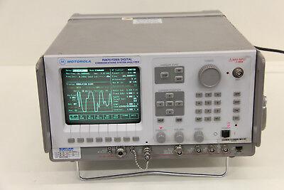 Motorola R-2670a R2670a Fdma Communications Analyzer P25 With Trunking R2670b