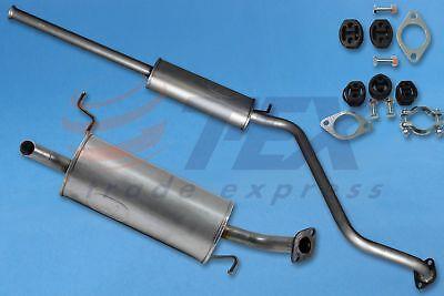 Mittelschalldämpfer//Endschalldämpfer Auspuff Hyundai Getz 1.5 CRDi Montageware