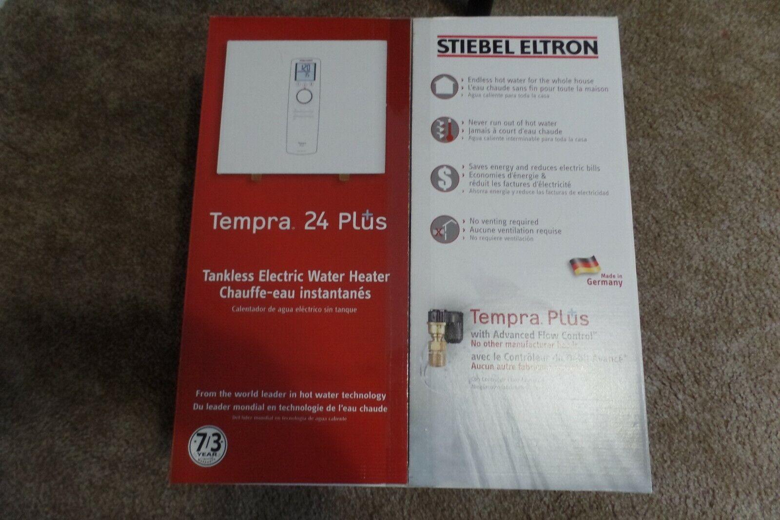 NEW! Stiebel Eltron Tempra 24 Plus Tankless Electric Water H