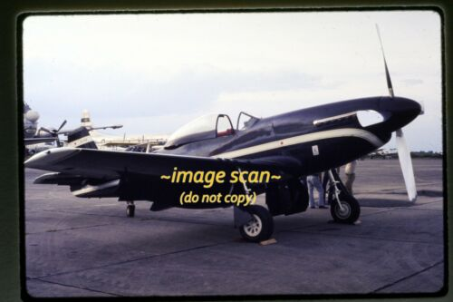 North American P-51 Mustang Aircraft in 1976, Original Slide f23a