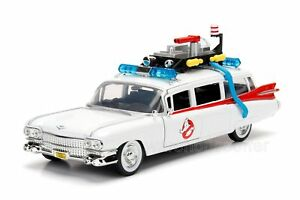 Jada 1:24 Display Metals Hollywood Rides Ghostbusters Ecto-1 Diecast Car 99994