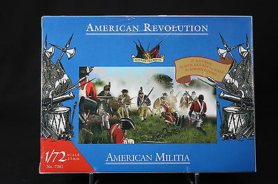 XJ141 Accurate Personaggi 1/72 7201 American Revolution Militia