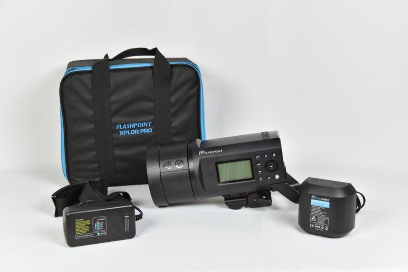 Flashpoint XPLOR 600 PRO TTL Battery-Powered Monolight (Bowens)- Godox AD600 Pro