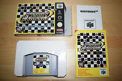 Nintendo 64 *Penny Racers* N64 OVP CiB Near Mint mit Anleitung Selten Rar