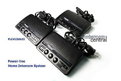 Intercom Central  413B 3  Home Power Line Communication Intercom 3 Channels