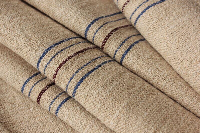 Grain sack fabric grainsack Stair runner upholstery material European 7.8 YARDS