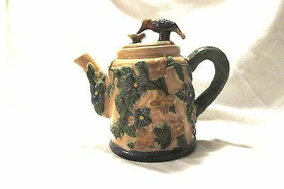 Hummingbird Decorative Teapot Vintage