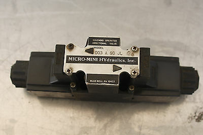 Micro-mini Hydraulics D03agcjl Solenoid Valve 1