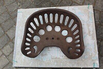 Vintage Metal Tractor Seat Pan Farm Equipment Tool