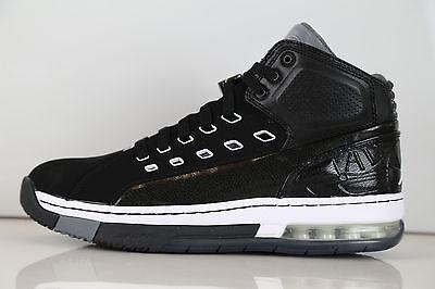 Air Jordan 3 Cool Grey (Nike Air Jordan Ol' School Black White Cool Grey 317223-013 8-14 1 retro 3 11 4)