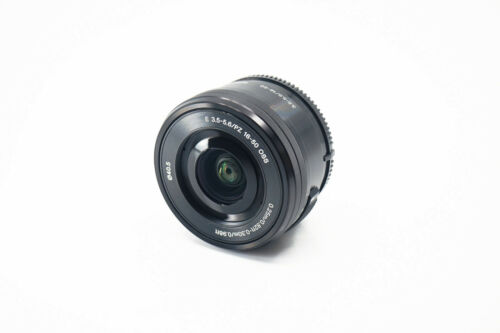 Sony E PZ Powerzoom 16-50mm F3.5-5.6 OSS SELP1650 Lens (Black) - E mount APS