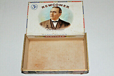 Newcomer Perfecto Specials Extra Quality Cigars Box 5 Cents Brockmeyer Co St Lou