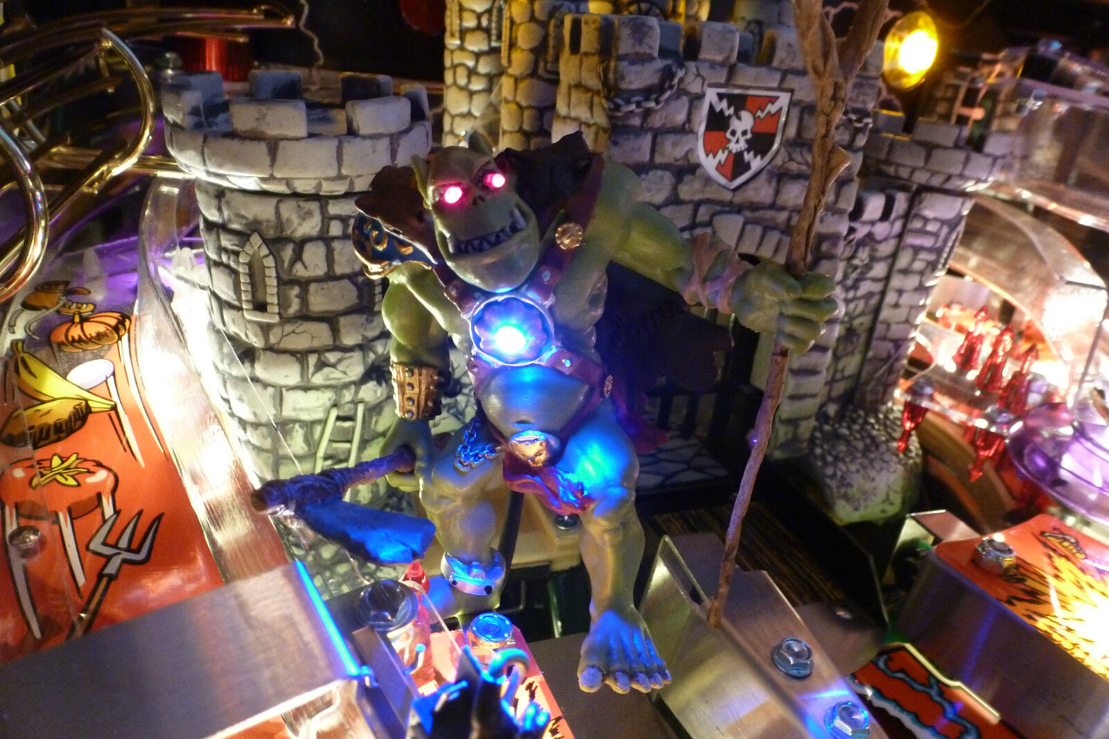 Exclusive Catapult LED mod for Medieval Madness MMR Pinball Catapult Ramp Light
