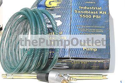 General Pump Industrial Sandblast Kit For Pressure Washers Dwsdbtk 5500 Psi New