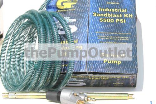 General Pump Industrial Sandblast Kit for Pressure Washers DWSDBTK 5500 PSI *NEW