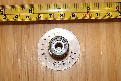 Tektronix 366-1316-01 Knob Gray With Skirt New