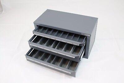 Huot Sd Reduced Shank Drill 1 To 1-12 Dispenser Organizer Cabinet - 13167