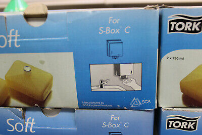 TORK 2 x 750ml Seifencreme S-Box C für den Seifen-Spender