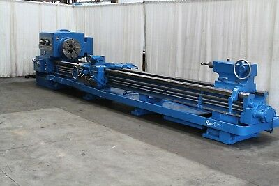 28 X 192 Lodge Shipley Hollow Spindle Lathe Stock 68602