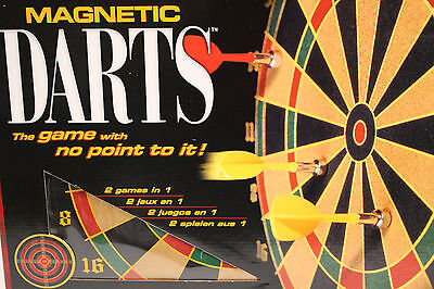 - NEW MIB Magnetic Darts, 2 games in 1  The game with no point to it!