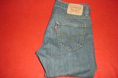 Men's Levi's 521 Slim Taper Fit Blue Jeans size 30 X 28 comprar usado  Enviando para Brazil