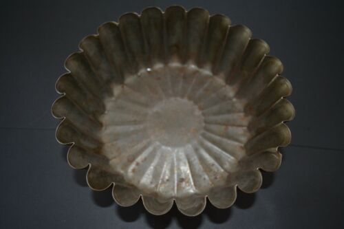 Vintage Ekcoloy Fluted Scallop Edge Cake Pan Antique Country Kitchen Decor