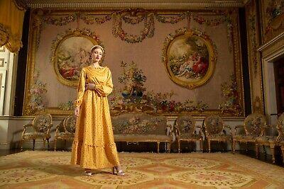 Lindy Bop UNIQUE Modest SYDNEY Bee Dress SIZE 22 Abaya Flawless Maxi...