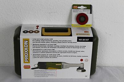 Proxxon Set Langhals-Winkelschleifer LHW 28547+28548+Staubschutzmaske