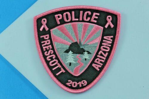 2019 Pink Prescott Arizona Police Breast Cancer Awareness Patch.