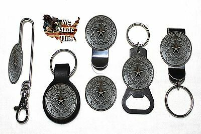 The Lone Star State of Texas Seal Bottle Opener Key Fob Key Holder or Money Clip ()