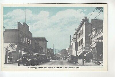 Drug Store on Fifth Avenue Coraopolis  PA