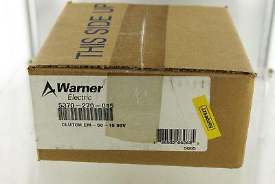 Altra Industrial Motion Warner Electric 5370 270 015 Em5010 Clutch New