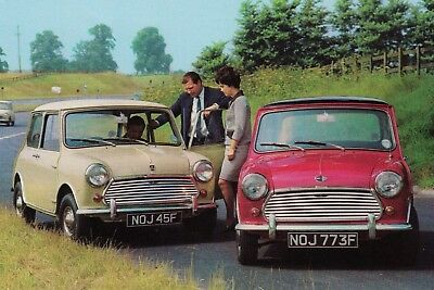 Austin Mini Cooper & Mini Cooper S Car Jumbo Fridge Magnet
